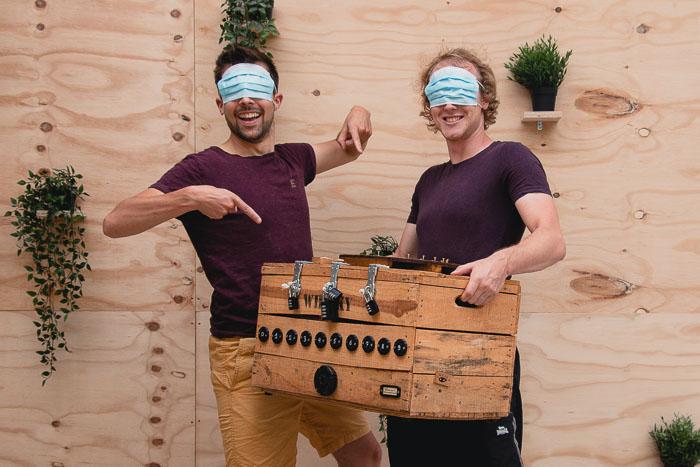 Corona proof teambuilding activiteit escape boxes